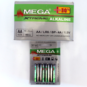батерия алкална Mega Xtreme Super Power АА LR6/1,5V